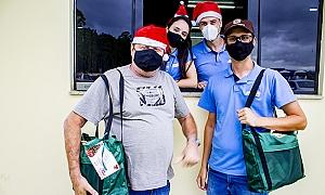 Entrega das Cestas de Natal 2020